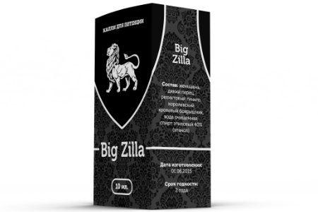 упаковка препарата Bigzilla