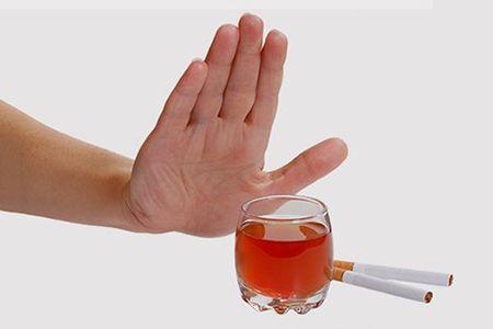 отказ от сигарет и алкоголя