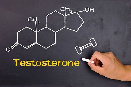 слово Тестостерон на доске