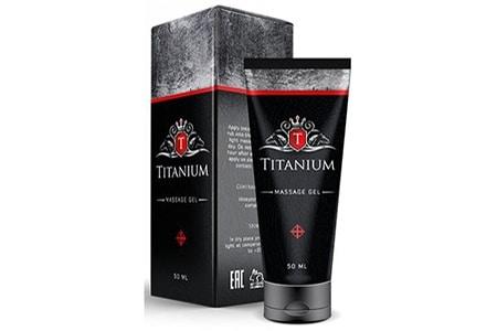 упаковка Titanium гель