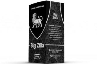 Особенности применения капель Big zilla с отзывами и ценами